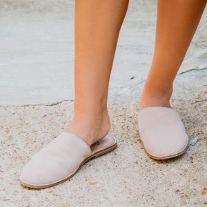 Free People Coronada Slip-On Flat BELLINI Pink Sue